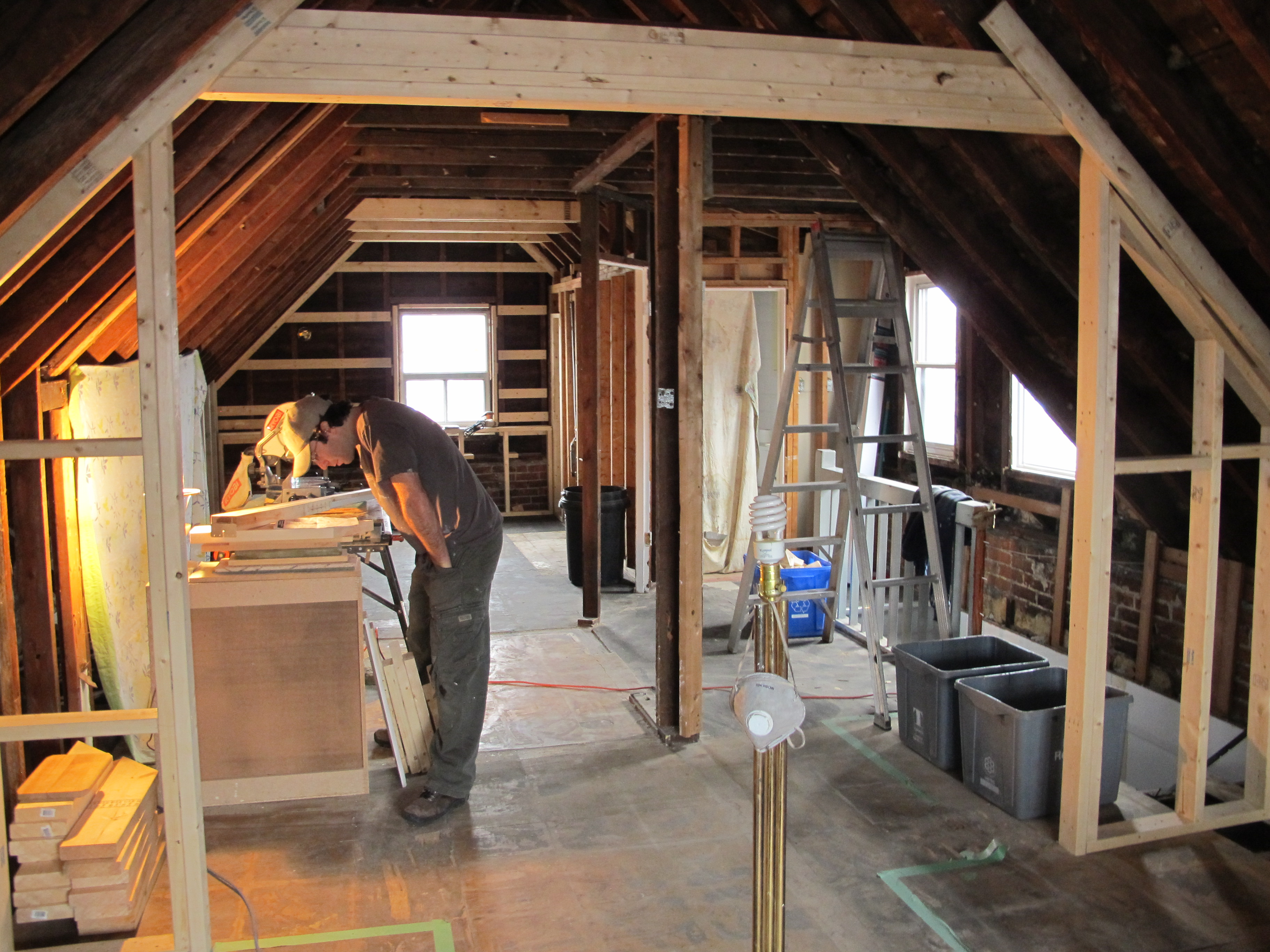 attic addition plans - I want to add a shed dormer to the attic room I already have