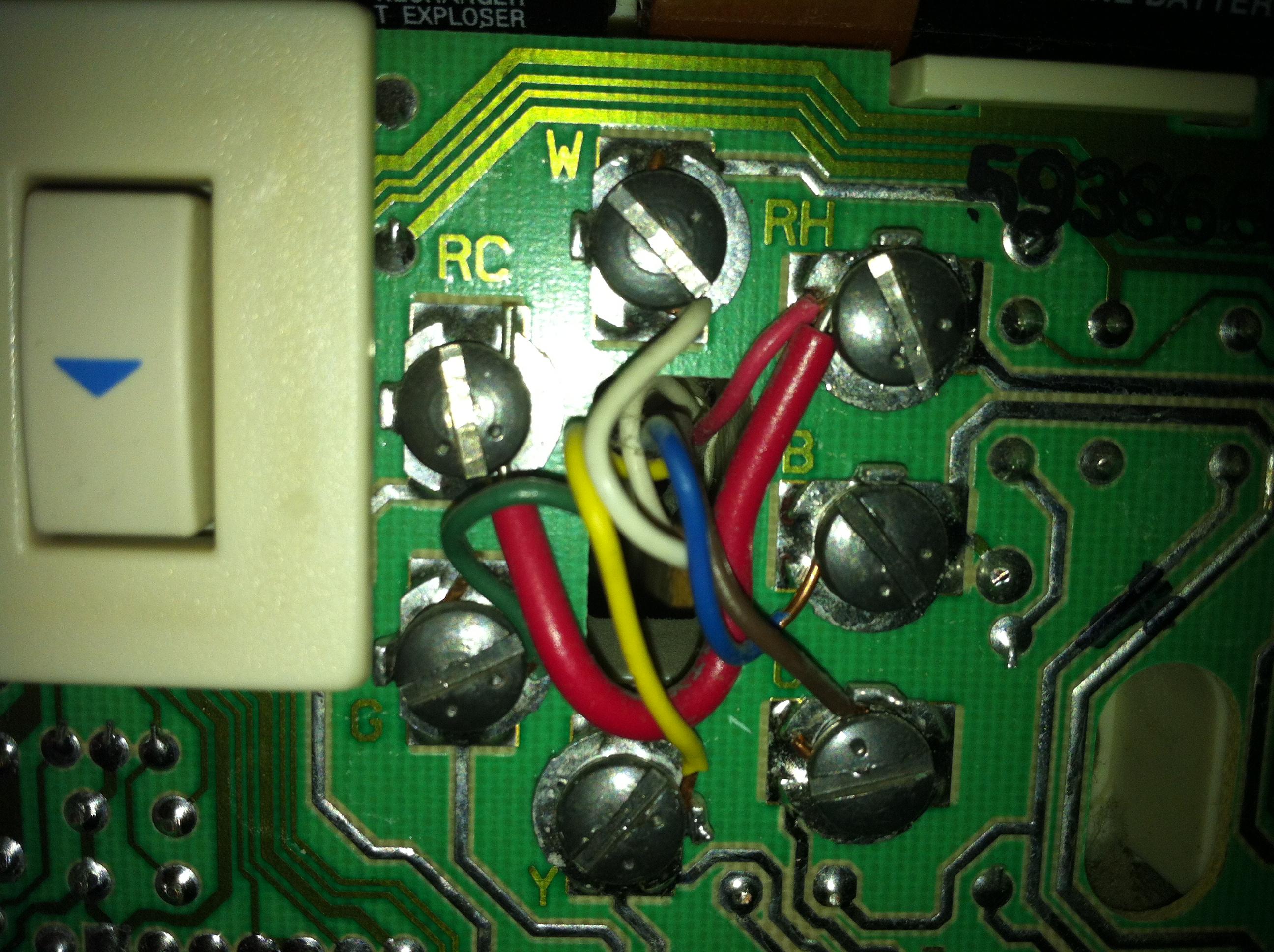 Wiring Diagram On Honeywell Rth111b Thermostat Wiring Diagram
