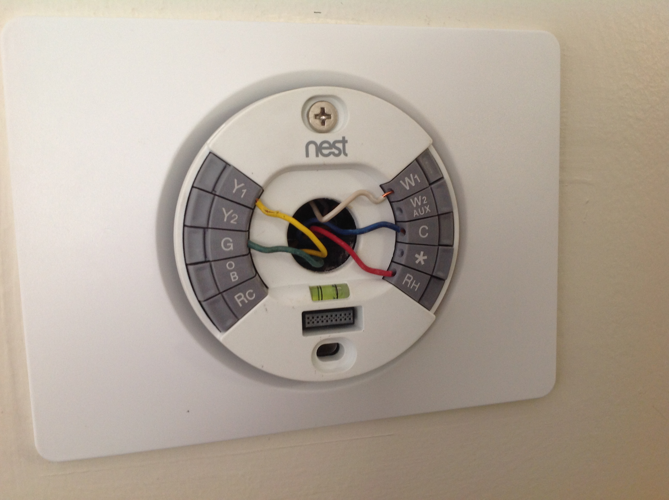 nest thermostat wiring diagram for humidifier with coleman
