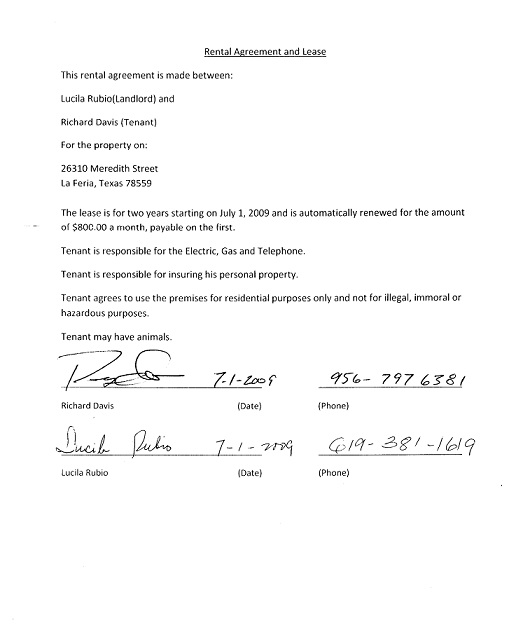 tenancy agreement renewal template - non renewal of lease letter free printable documents