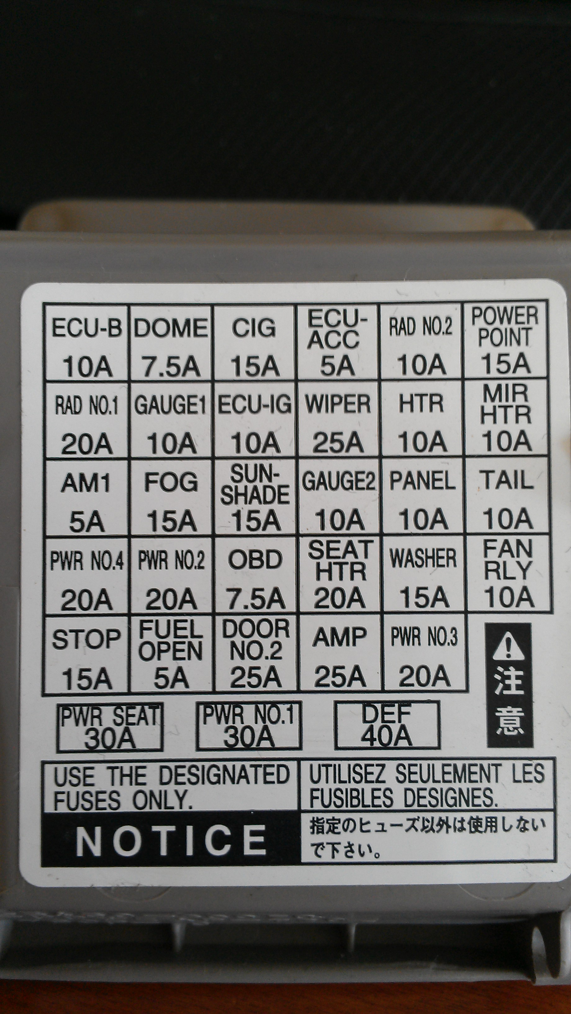 Lexus Es330 Fuse Box Diagram Wiring Schematics 2004 Saab 2005 Another Blog About U2022 Scion Xa