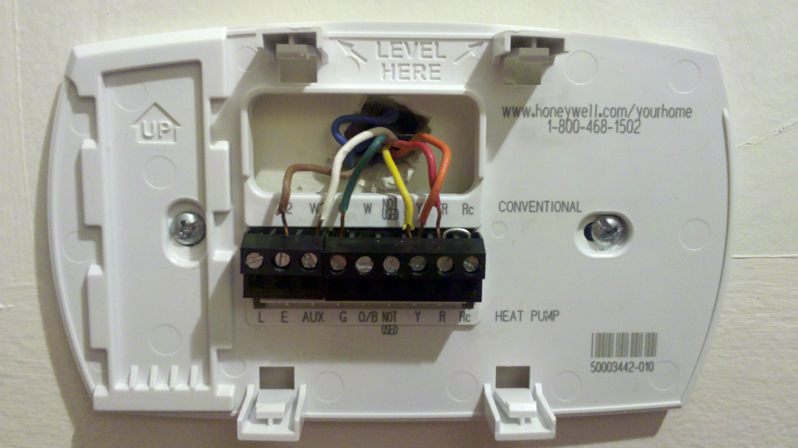 Heat Pump T Stat Wiring Honeywell Thermostat Diagram Images Of