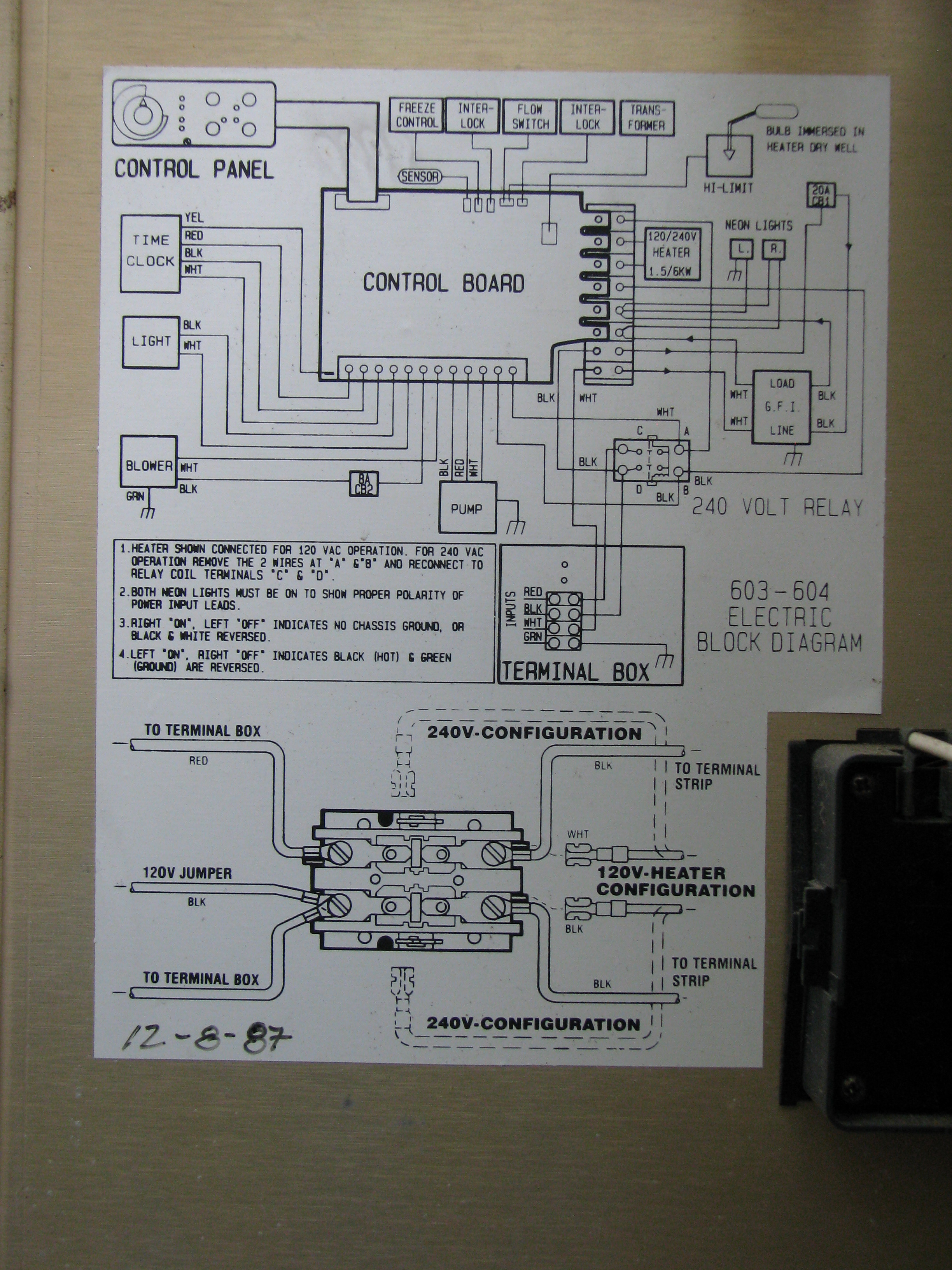 Wiring Diagram For Spa Circuit Board Free Picture Dimension One Get Image About Spotlights Bath