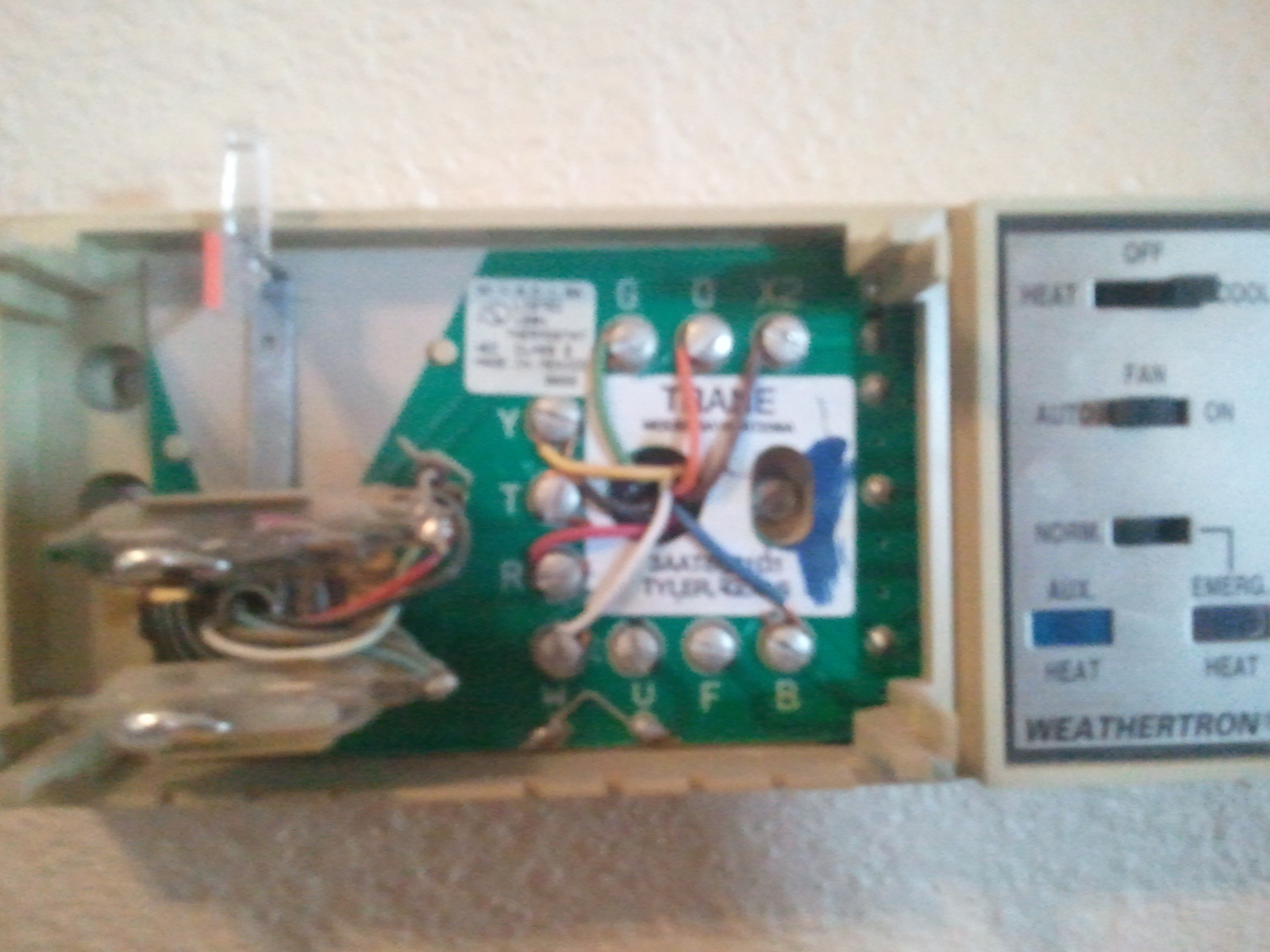 35 Trane Weathertron Thermostat Wiring Diagram