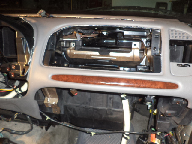 lincoln navigator blend door removal door panel