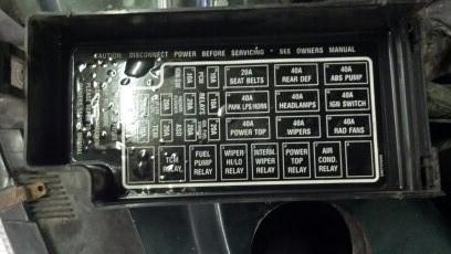 Sebring Auto Shutoff Relay