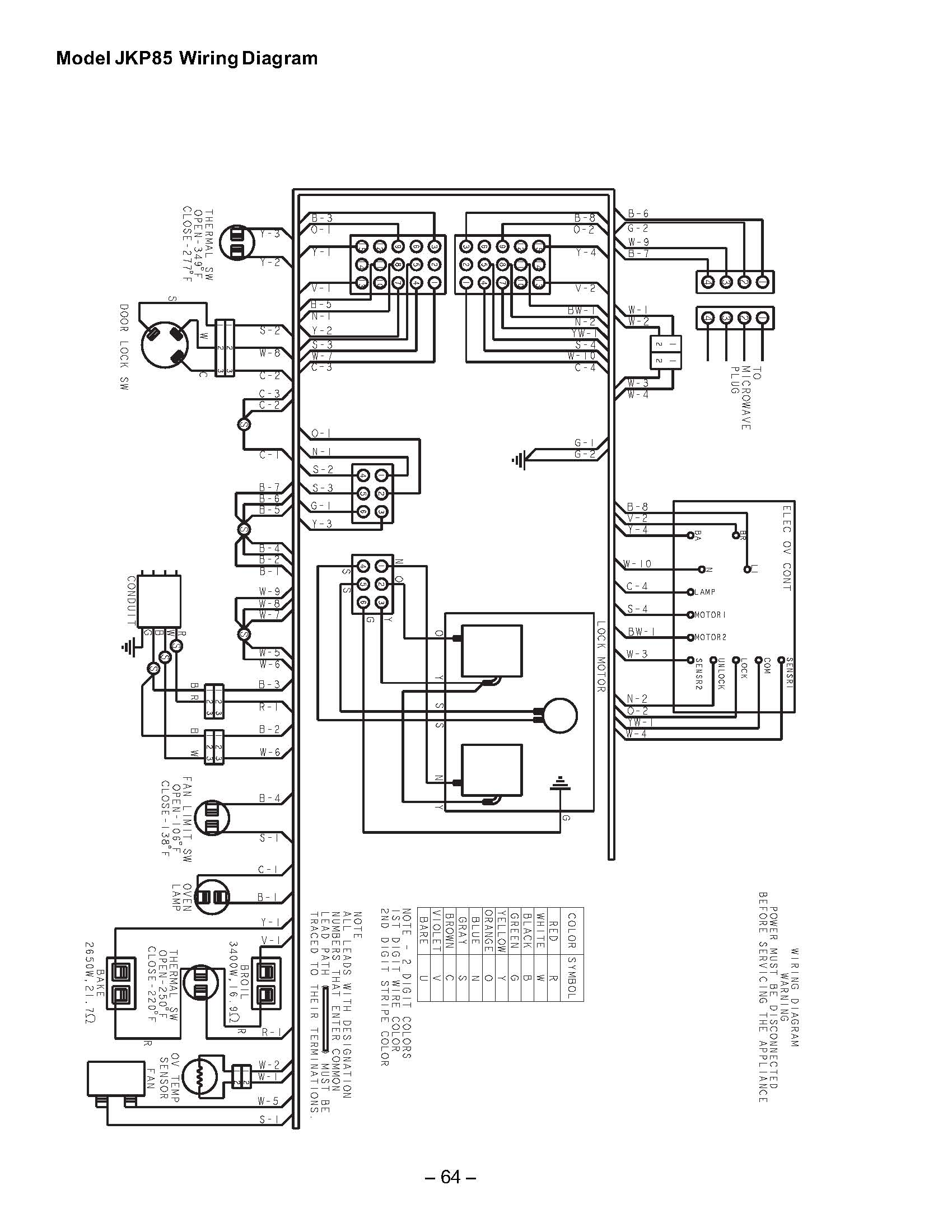 Wiring Diagrams For Samsung Wall Oven Electric Diagram My Problem Is A Completely Dead Ge Jkp85 Combination Kitchenaid