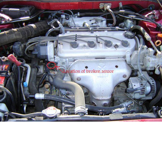 Low Idle-stall Honda Accord Vtec Petrol 2.0L When Starting