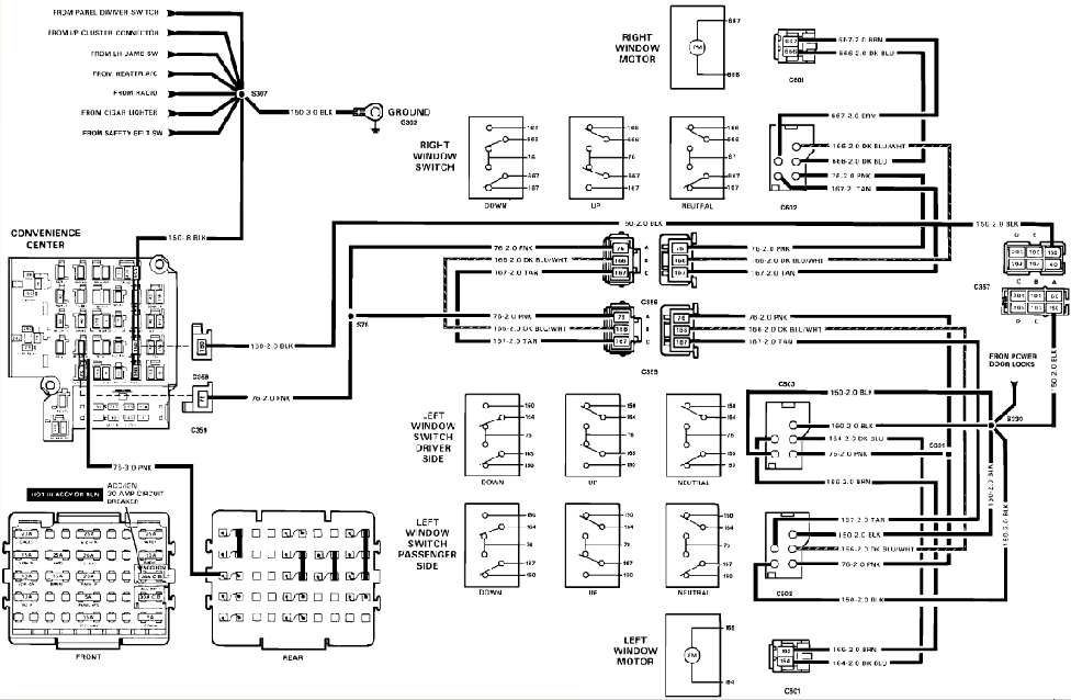 1989 chevy c1500 wiring diagram 1989 chevrolet c1500 wiring diagram
