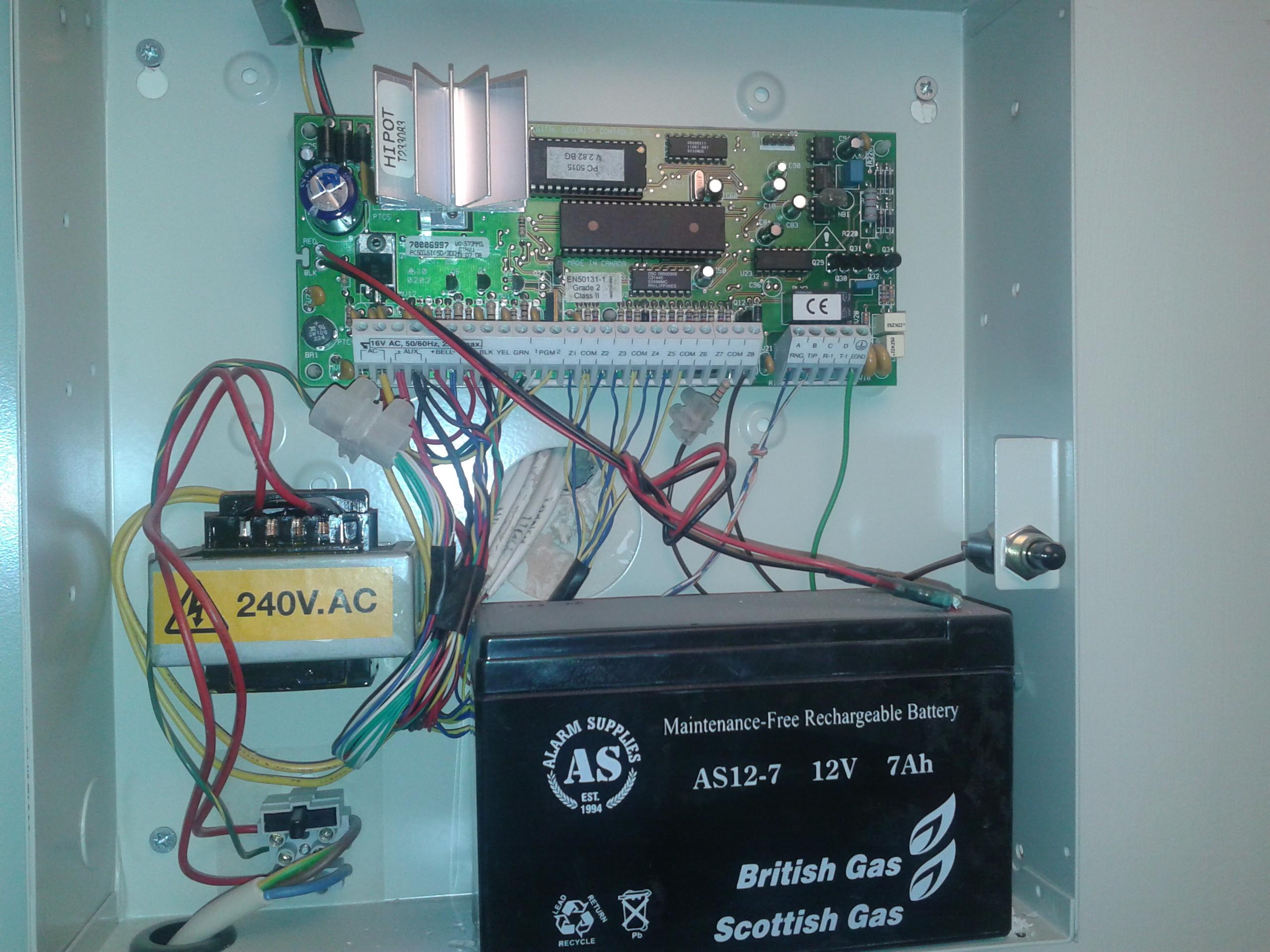 British gas House alarm Manual