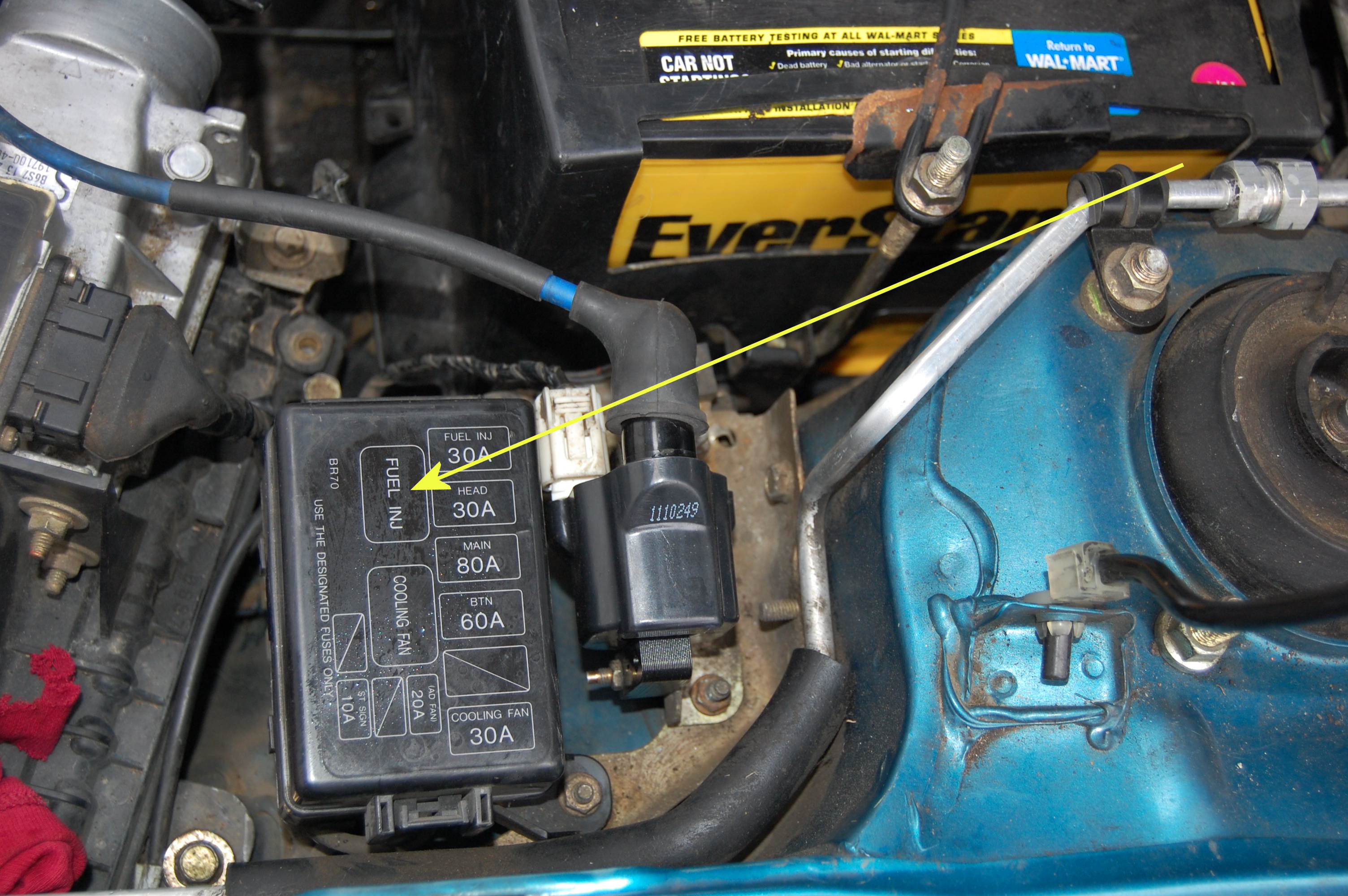 Fuel Relay on 1990 Miata Wiring Diagram