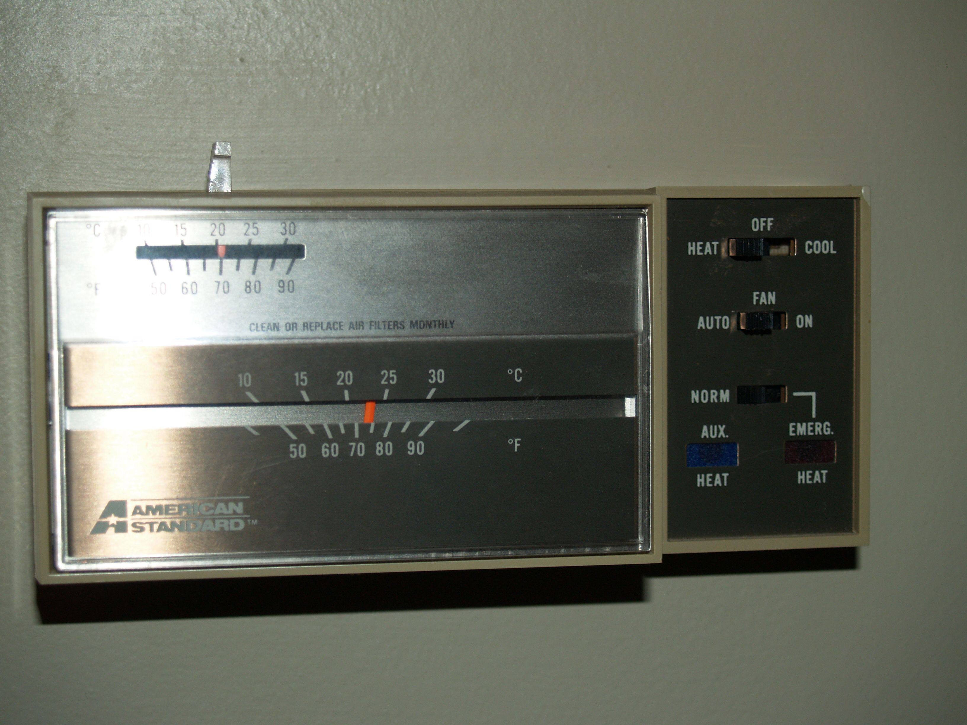 I Have A Honeywell Thomstat Asystat 655a And I Want To Replace
