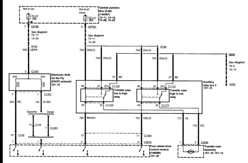 2001 F350 Transmission Diagram - Schema Wiring Diagrams F Super Duty Transmission Wiring Diagram on