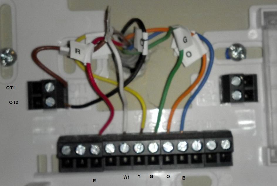 My Exsisting Thermostat Running My Electric Heat Pump Hvac