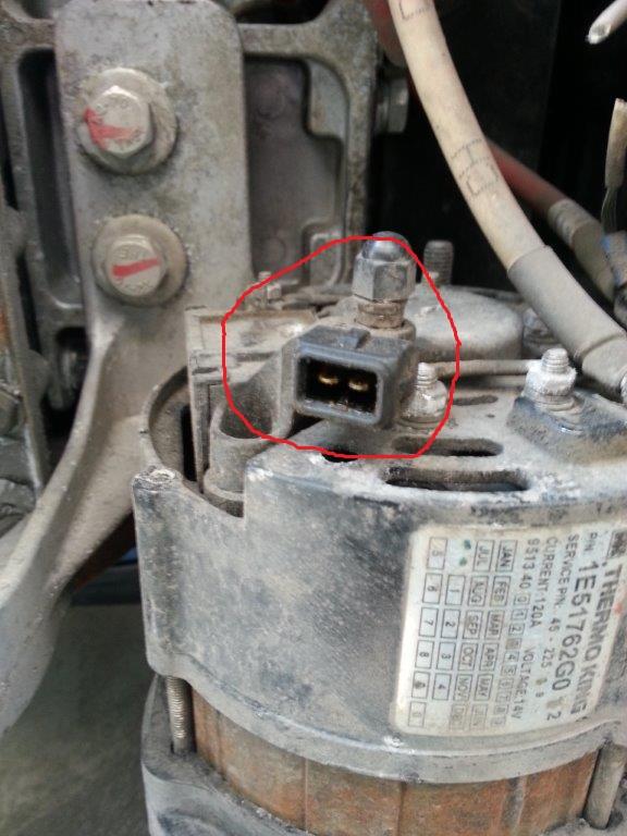 Wiring Diagram Alternator Voltage Regulator