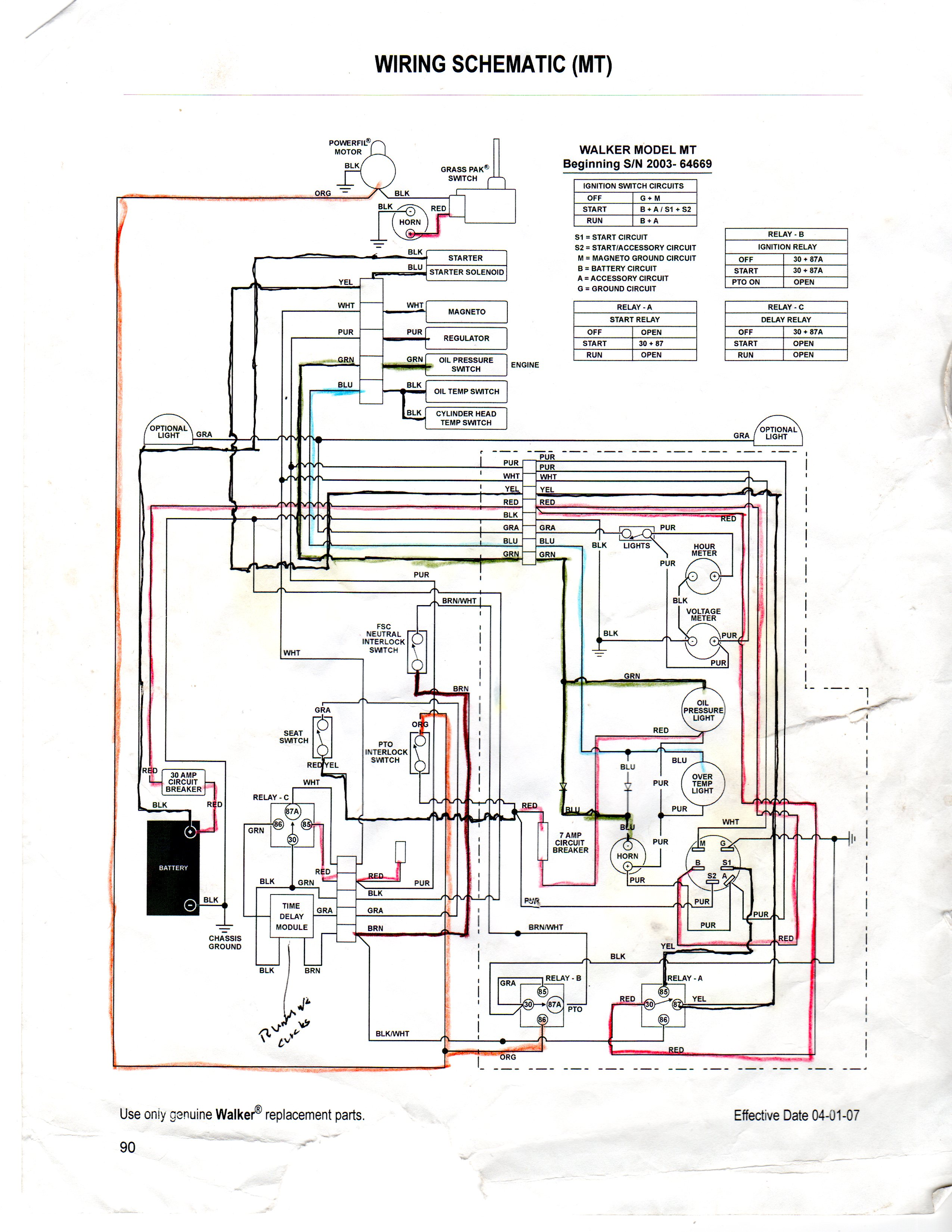 Sltx 1054 Cub Cadet Schematic Engine Control Wiring Diagram For Ltx 1046 33 1050 Fuses