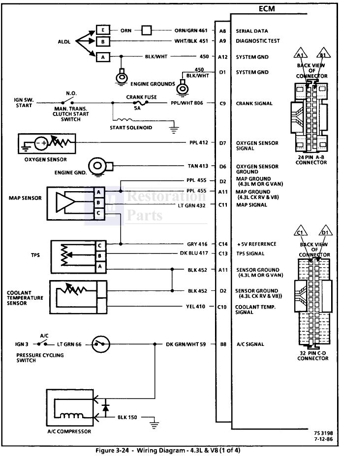 1987 gmc sierra wiring diagram i have a 1987 gmc sierra with the tbi engine. 93 gmc sierra wiring diagram #3