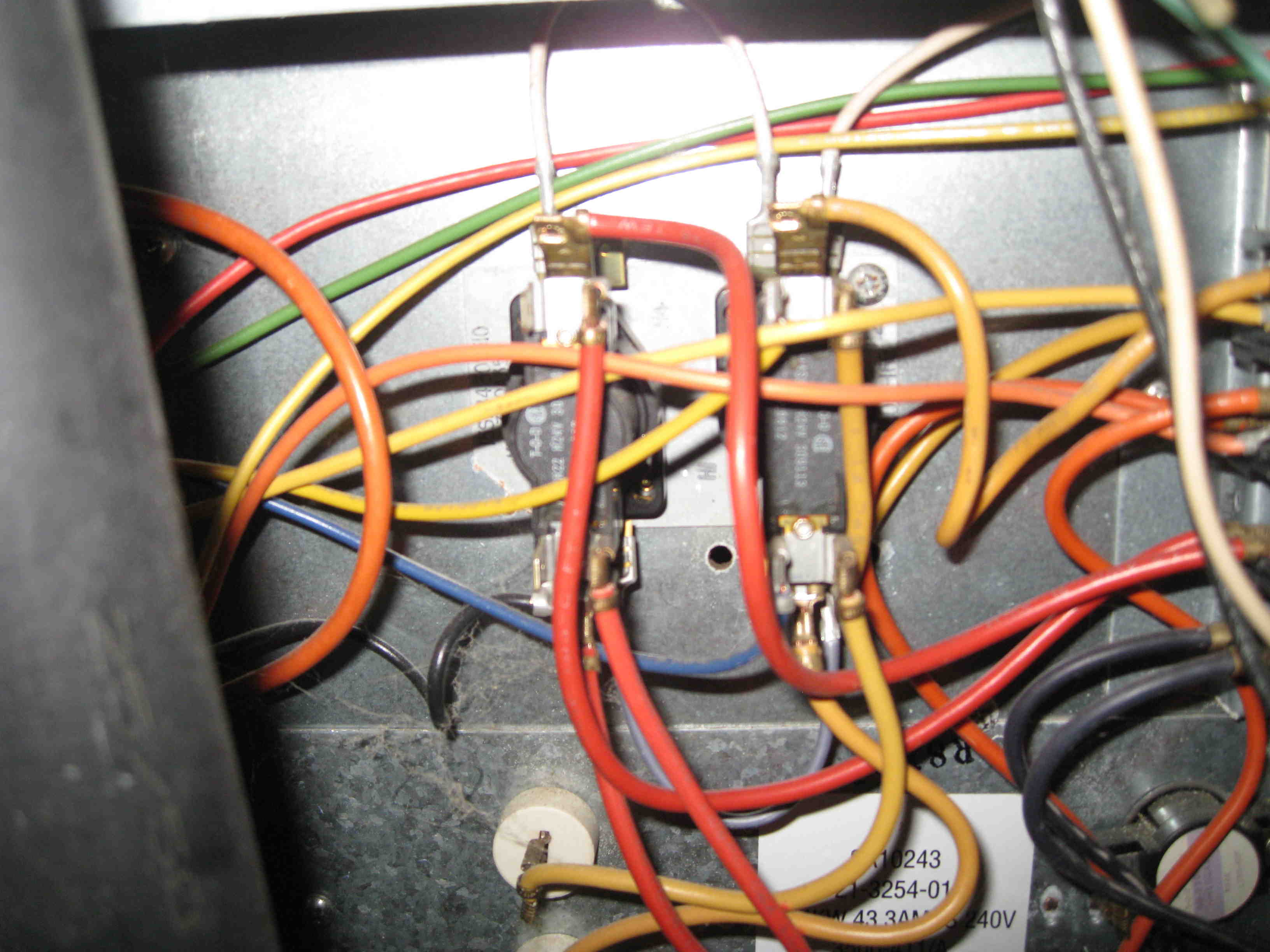 electric fan relay wiring diagram for 86 trans am i have a model eb23b furnace the blower runs all the time