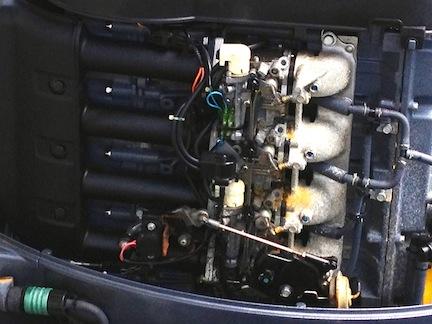 2012 Mercury 90hp 4 Stroke Manual