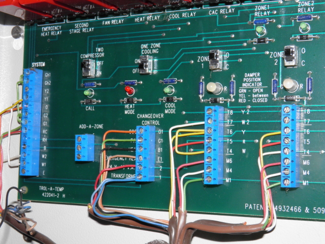 Aprilaire Controller We Can View The Manual For That 4 Zone Control