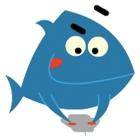 Happy Blue Fish