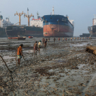 Integrated Steel Plant Ships scrap  recy