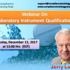 "Webinar On ""Laboratory Instrument Qualification"""