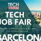 Barcelona Tech Job Fair Spring 2018