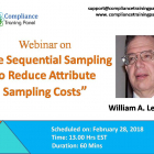Use Sequential Sampling to Reduce Attribute Sampling Costs