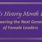 Women's History Month Program