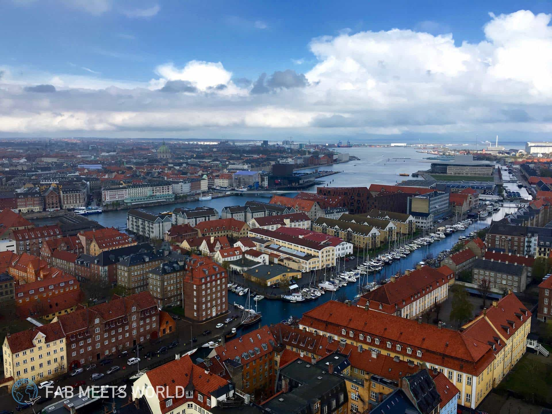The best view of Copenhagen from Church of Our Saviour (Video)