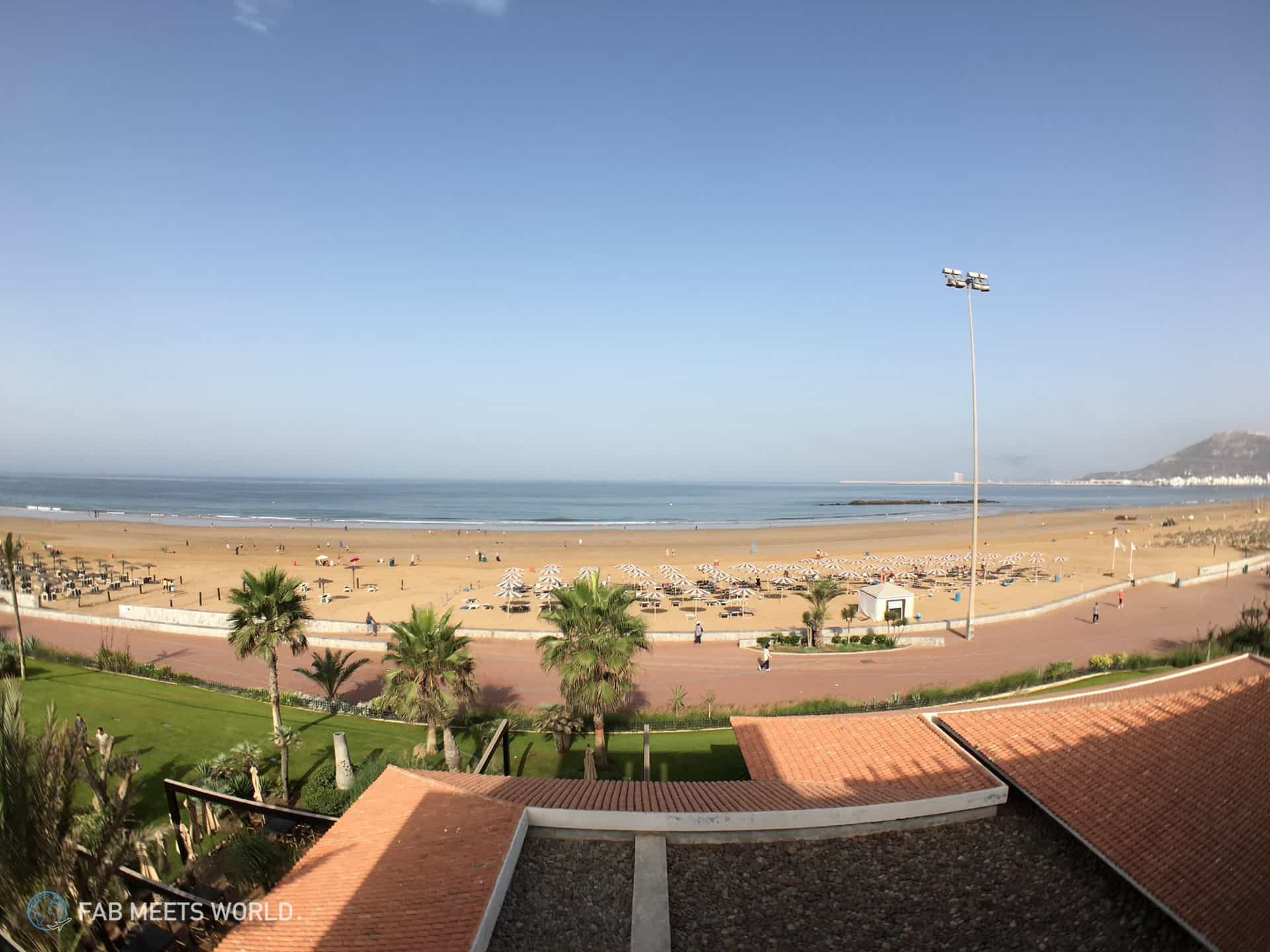 What kind of weather to expect in Agadir, Morocco