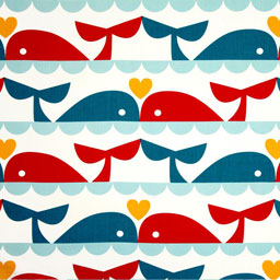 Nautical Inspired Cotton Print Fabric