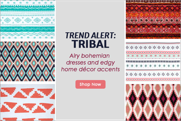 Trending: Tribal Prints