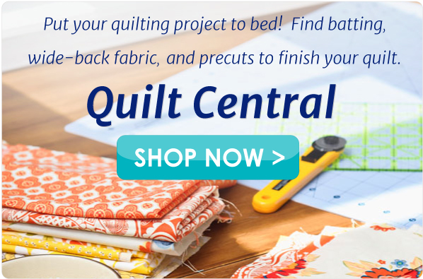 Find the quilting supplies you need in Quilting Central