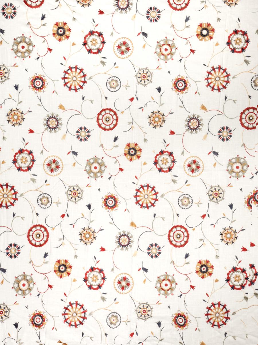 Suzani Embroidery White & Bright