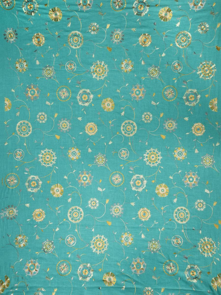 Suzani Embroidery Azure