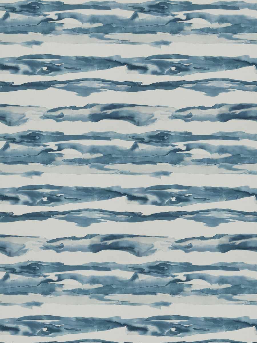 Watercolor Wave Sapphire