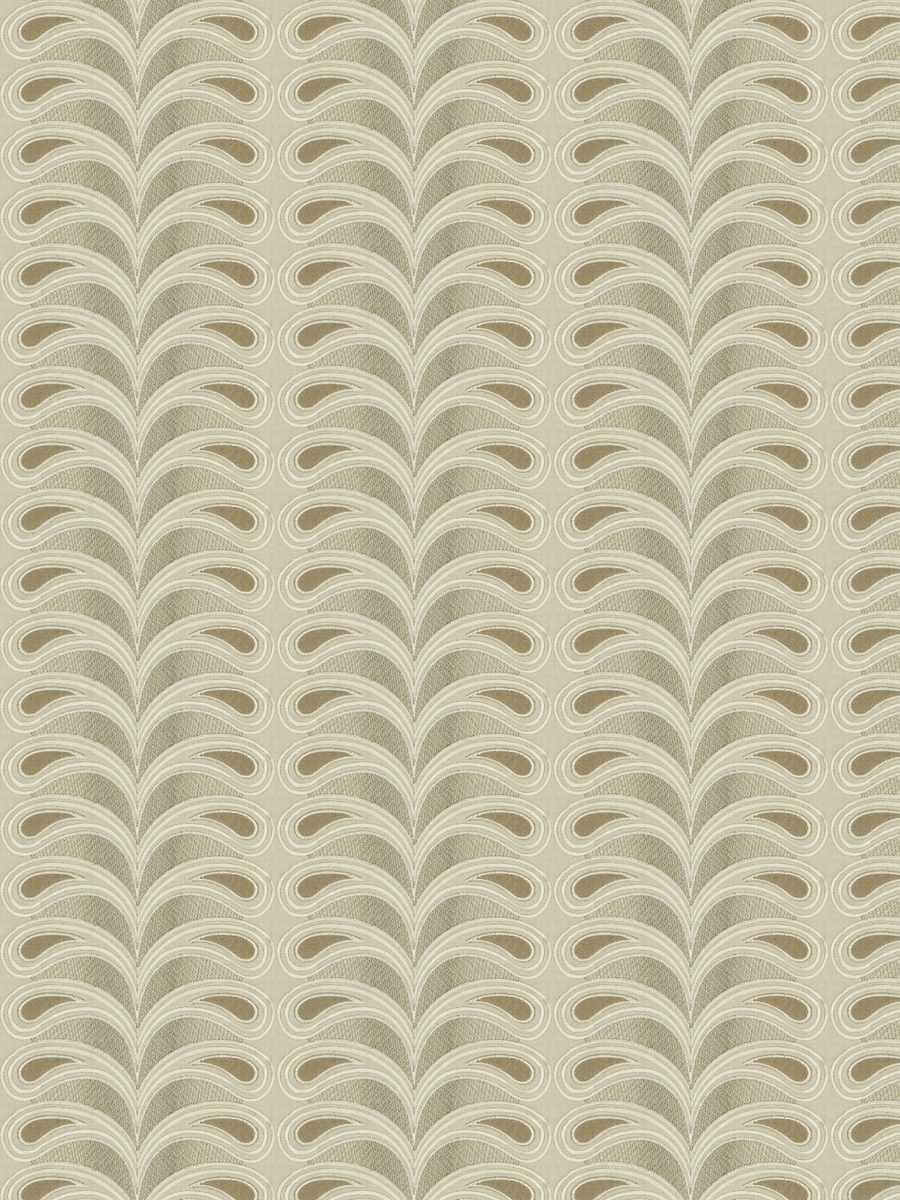 Plumage Stripe White Sand
