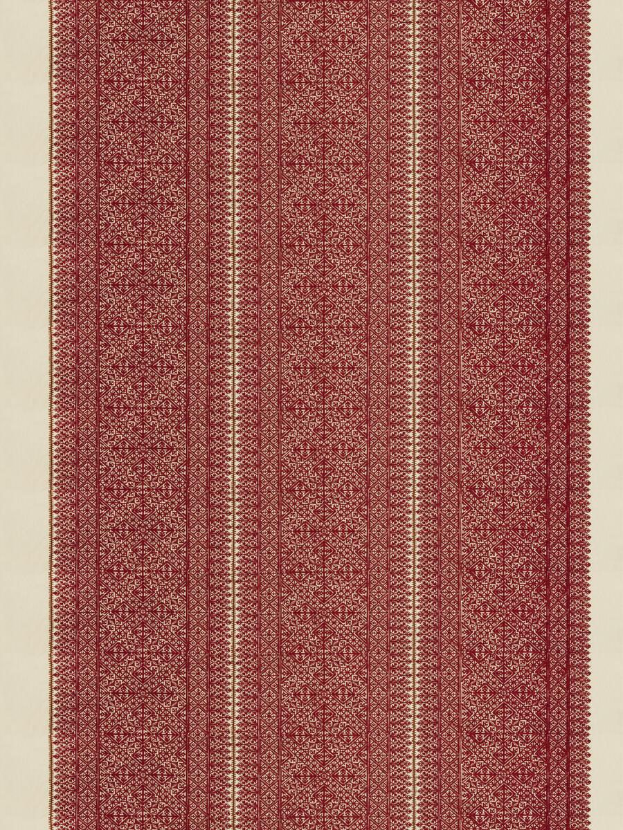 Fez Embroidery Carmine