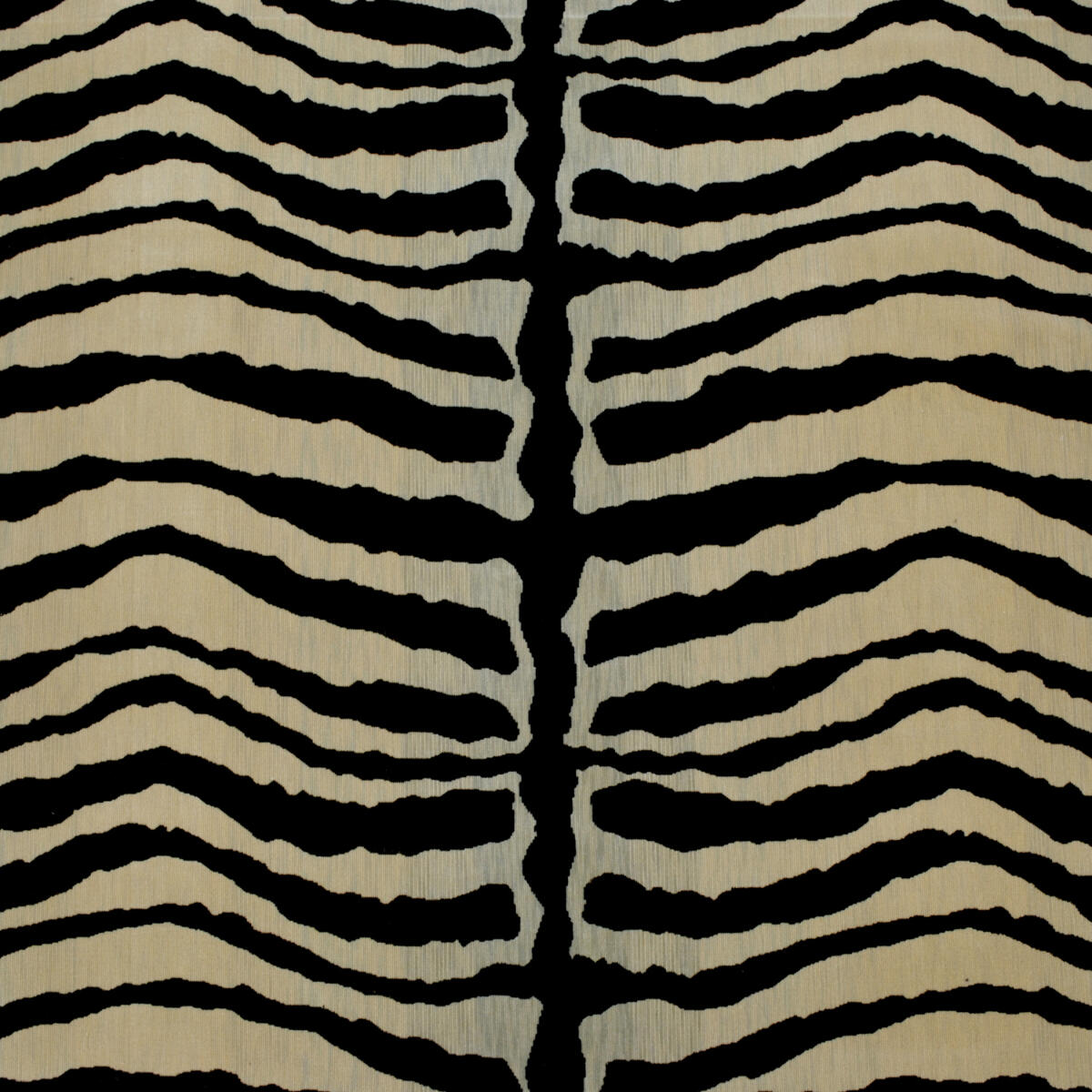 Zebra Velours Soie Natural