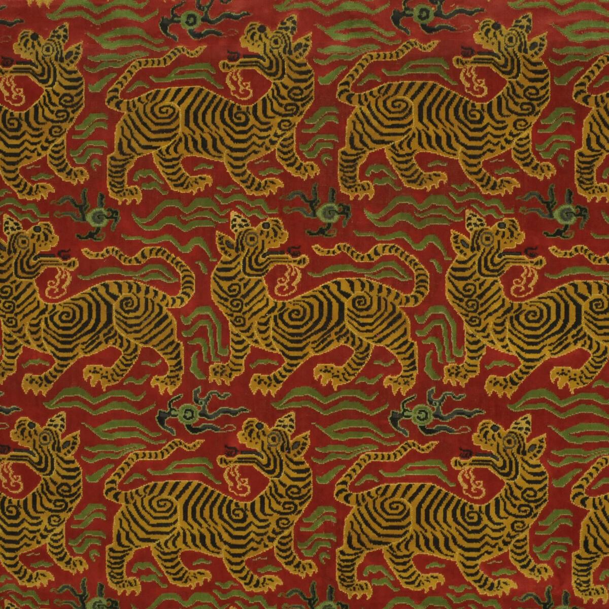 Tibet Small Scale Cinnabar