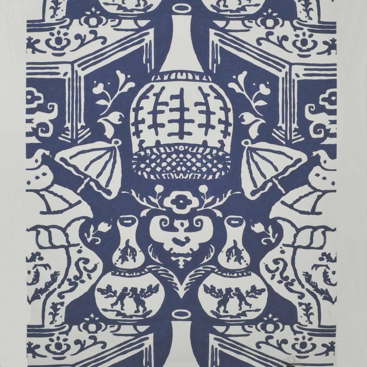 The Vase Blue / White
