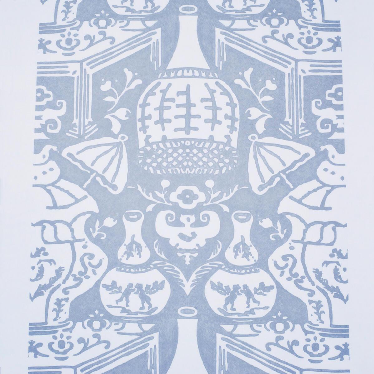 The Vase Pale Blue