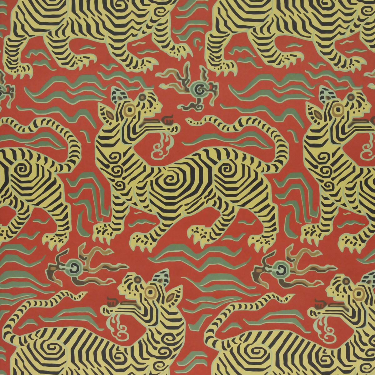 Tibet Wallpaper Cinnabar