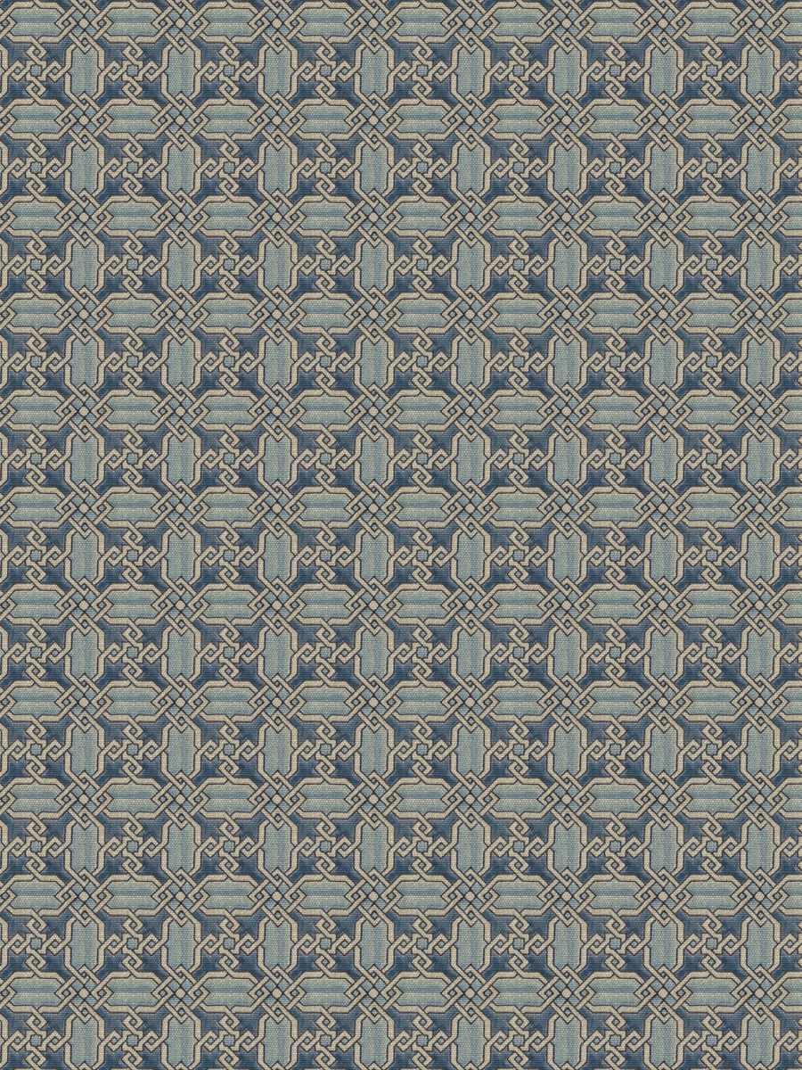 Vietri Blue On Linen