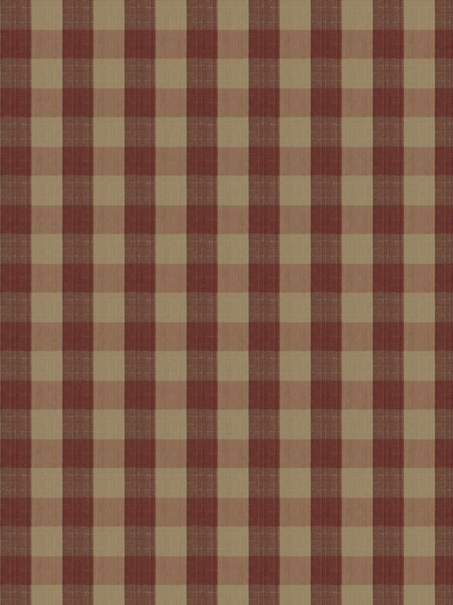 Biron Check Cranberry
