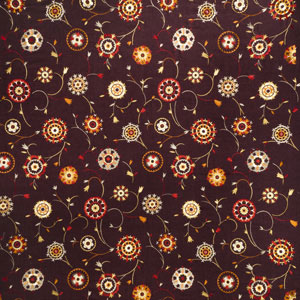 Suzani Embroidery Cinnamon