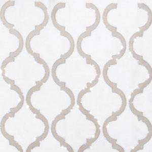 Shimmering Lattice Tan & Silver