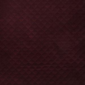 Quilted Velvet Bordeaux